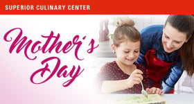 superior-equipment-supply - Superior Culinary Center - Mommy & Me: Mother Day Cooking Theme: Brunch Favorites (Includes Mom & One Child) - Kids & Teens Holiday Cooking Classes