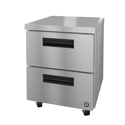 superior-equipment-supply - Hoshizaki - Hoshizaki One-Section Stainless Steel Undercounter Freezer 7.2 cu. ft.