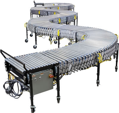 Used Electric Expandable 60' Conveyor System