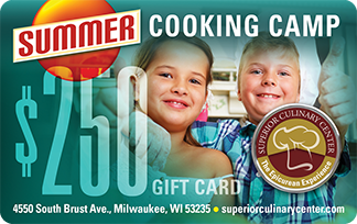 Superior Culinary Center Kids Summer Cooking Camp Gift Card