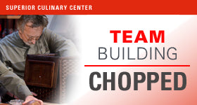superior-equipment-supply - Superior Culinary Center - Iron Chef Competition - Culinary Team Building
