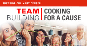 superior-equipment-supply - Superior Culinary Center - Treat for Tots - Culinary Team Building