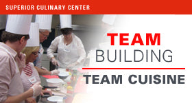 superior-equipment-supply - Superior Culinary Center - Sumptuous Small Plates - Culinary Team Building