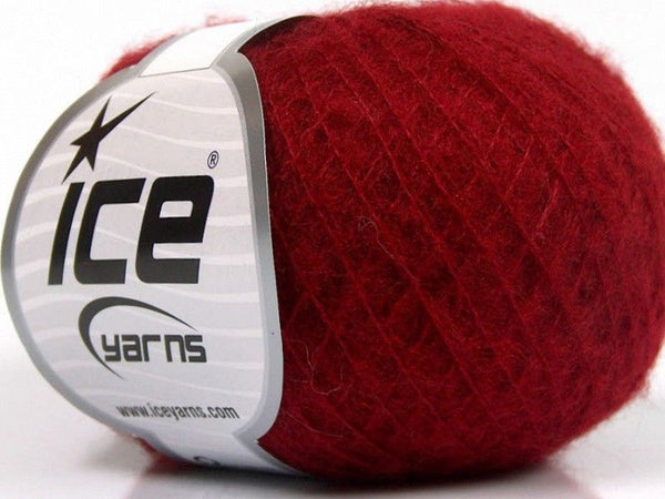 30g Kid Mohair Fine Red Ice Yarns Strickwolle Ice Yarns - Hungariana Garn und Strickwolle Online Shop