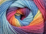 100g Magic Light Yellow Purple Pink Orange Blue Shades Ice Yarns Strickwolle - Fest Keks Lebkuchen & Keks für jede Feier