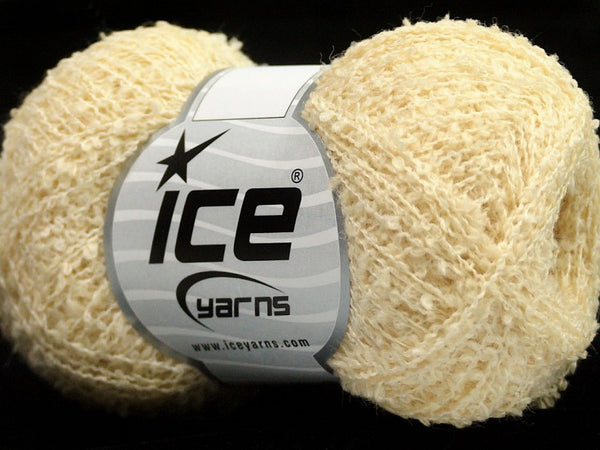 Wollpaket Sale Winter Boucle Cream Ice Yarns 150g