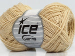 50g Tomboy Cotton Beige Ice Yarns Strickwolle Ice Yarns - Hungariana Garn und Strickwolle Online Shop