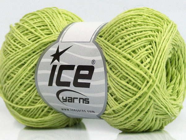 50g Tomboy Cotton Green Ice Yarns Grün Strickwolle Ice Yarns - Hungariana Garn und Strickwolle Online Shop
