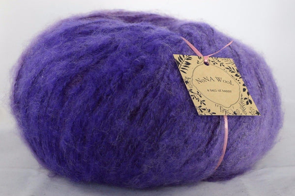 200g Farbverlaufsgarn NoNA WooL Mohair Giant Soft Wolle Purple Dawn Strickwolle Ice Yarns - Hungariana Garn und Strickwolle Online Shop