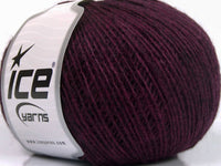 22% Rabatt 300g Wollpaket Ice Yarns Wool Cord Sport Maroon Orchid Grey Strickwolle Ice Yarns - Hungariana Garn und Strickwolle Online Shop