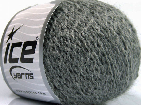 50g Robin Alpaca Grey Grey Ice Yarns