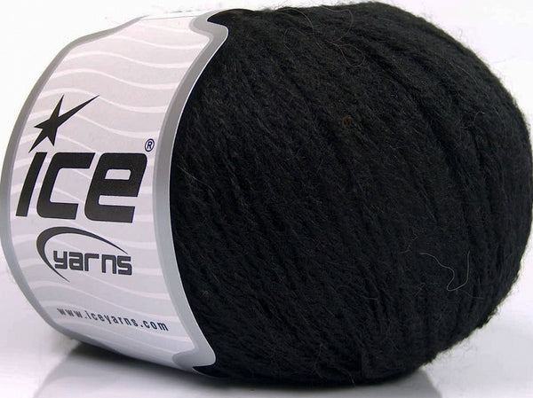 50g Alpaca Superfine Sport Schwarz Ice Yarns Strickwolle Ice Yarns - Hungariana Garn und Strickwolle Online Shop