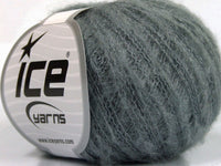 30g Kid Mohair Flamme Grey Ice Yarns Strickwolle Ice Yarns - Hungariana Garn und Strickwolle Online Shop