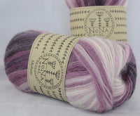 100g Farbverlaufwolle NoNA WooL Mohair Spectra Sweet Fig Strickwolle Ice Yarns - Hungariana Garn und Strickwolle Online Shop