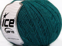 50g Ice Yarns Wool Cord Sport Emerald Green Strickwolle Ice Yarns - Hungariana Garn und Strickwolle Online Shop