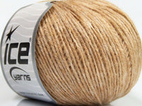 50g Air Baby Alpaca Cafe Latte Melange Ice Yarns Strickwolle Ice Yarns - Hungariana Garn und Strickwolle Online Shop