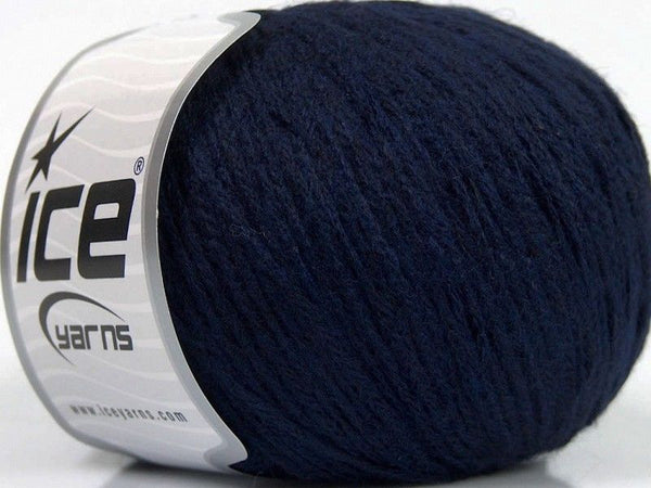 50g Air Baby Alpaca Dark Navy Ice Yarns Dunkel Blau Strickwolle Ice Yarns - Hungariana Garn und Strickwolle Online Shop