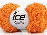50g Alloro Cotton Orange Ice Yarns Strickwolle - Fest Keks Lebkuchen & Keks für jede Feier