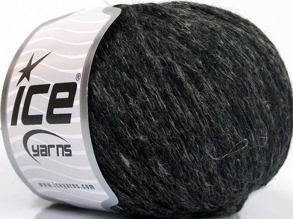 50g Alpaca Linen Chain Anthracite Black Ice Yarns Strickwolle Ice Yarns - Hungariana Garn und Strickwolle Online Shop