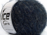 30g Alpaca Linen Superfine Navy Melange Ice Yarns Strickwolle Ice Yarns - Hungariana Garn und Strickwolle Online Shop