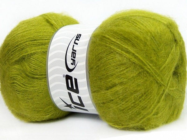 100g Angora Classic Green Ice Yarns Strickwolle Ice Yarns - Hungariana Garn und Strickwolle Online Shop