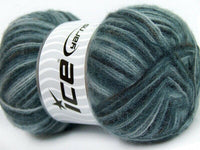 100g Angora Supreme Color Grey Shades Black Ice Yarns Strickwolle - Fest Keks Lebkuchen & Keks für jede Feier