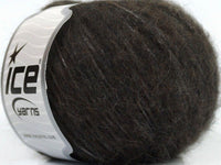 50g Baby Alpaca Shine Brown Ice Yarns Brown Strickwolle Ice Yarns - Hungariana Garn und Strickwolle Online Shop