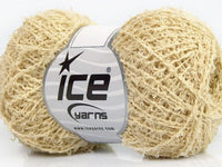 50g Boreal Cotton Lemon Yellow Ice Yarns Strickwolle Ice Yarns - Hungariana Garn und Strickwolle Online Shop