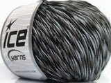 50g Cedric Alpaca Light Blue Grey Black Ice Yarns Strickwolle Ice Yarns - Hungariana Garn und Strickwolle Online Shop