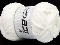 100g Chenille Worsted White Ice Yarns Strickwolle Ice Yarns - Hungariana Garn und Strickwolle Online Shop