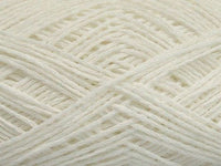 50g Cotton Chain Fine White Ice Yarns Weiss Strickwolle Ice Yarns - Hungariana Garn und Strickwolle Online Shop