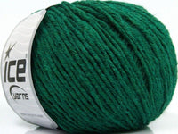 50g Crash Comfort Green Ice Yarns Grün Strickwolle Ice Yarns - Hungariana Garn und Strickwolle Online Shop