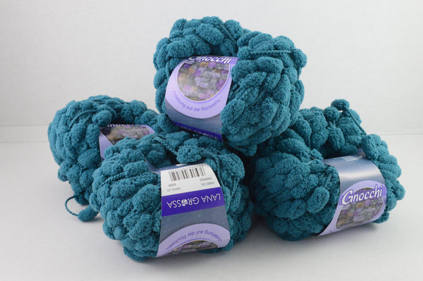 Wollpaket Gnocchi Teal Lana Grossa 300g