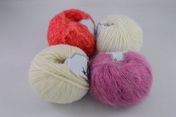 Wollpaket Mohair Merino 200g