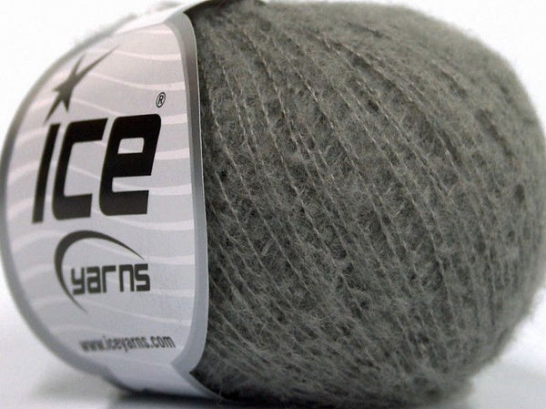 30g Dusty Wool Dark Beige Ice Yarns Strickwolle Ice Yarns - Hungariana Garn und Strickwolle Online Shop