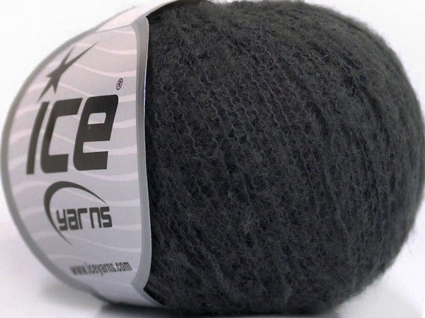 30g Dusty Wool Dark Grey Ice Yarns Strickwolle Ice Yarns - Hungariana Garn und Strickwolle Online Shop