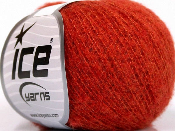30g Dusty Wool Dark Orange Ice Yarns Strickwolle Ice Yarns - Hungariana Garn und Strickwolle Online Shop