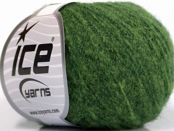 30g Dusty Wool Green Melange Ice Yarns Strickwolle Ice Yarns - Hungariana Garn und Strickwolle Online Shop