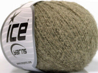 30g Dusty Wool Light Khaki Ice Yarns Strickwolle - Fest Keks Lebkuchen & Keks für jede Feier