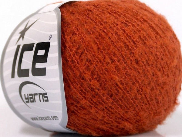 30g Dusty Wool Orange Ice Yarns Strickwolle Ice Yarns - Hungariana Garn und Strickwolle Online Shop