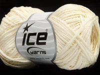 Sommer Paket Fettuccia Cottonac Fine Cream Sale Summer Light Green Cream  Ice Yarns 200g Strickwolle - Fest Keks Lebkuchen & Keks für jede Feier