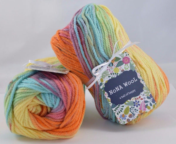 100g Farbverlaufsgarn NoNA WooL Windy Beach Strickwolle Ice Yarns - Hungariana Garn und Strickwolle Online Shop