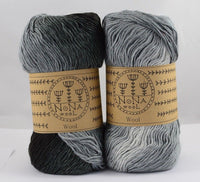 100g Farbverlaufsgarn Strickwolle NoNA WooL Eclipse Strickwolle Ice Yarns - Hungariana Garn und Strickwolle Online Shop