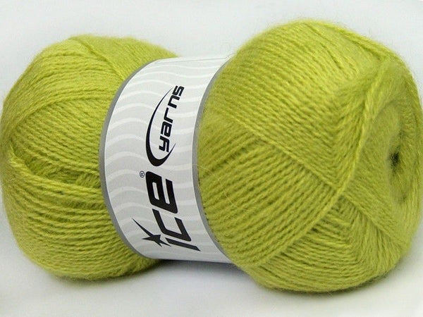 100g Firenze Angora Light Green Ice Yarns Strickwolle Ice Yarns - Hungariana Garn und Strickwolle Online Shop