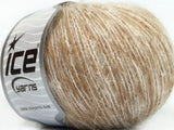 50g Honey Kid Mohair White Beige Ice Yarns Weiss Strickwolle Ice Yarns - Hungariana Garn und Strickwolle Online Shop