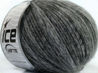 50g Ice Yarns Sale Luxury-Premium Grey Strickwolle Ice Yarns - Hungariana Garn und Strickwolle Online Shop