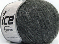 50g Kid Mohair Chain Dark Grey Ice Yarns Strickwolle Ice Yarns - Hungariana Garn und Strickwolle Online Shop