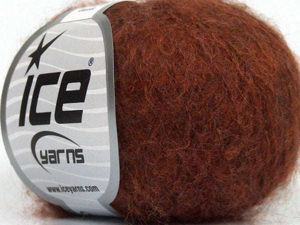 25g Kid Mohair Classic Copper Kupfer Strickwolle Ice Yarns - Hungariana Garn und Strickwolle Online Shop