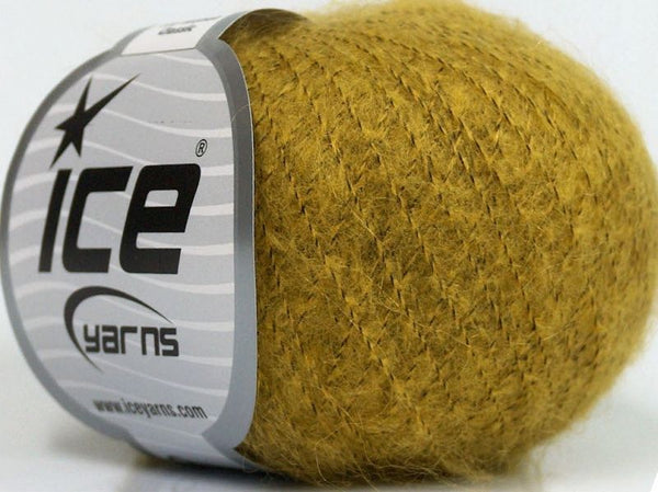 30g Kid Mohair Classic Light Green Hell Grün Ice Yarns Strickwolle Ice Yarns - Hungariana Garn und Strickwolle Online Shop