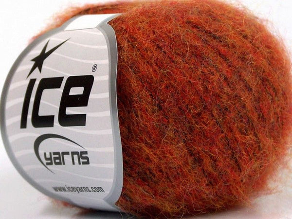 30g Kid Mohair Comfort Gold Dark Orange Ice Yarns Strickwolle Ice Yarns - Hungariana Garn und Strickwolle Online Shop
